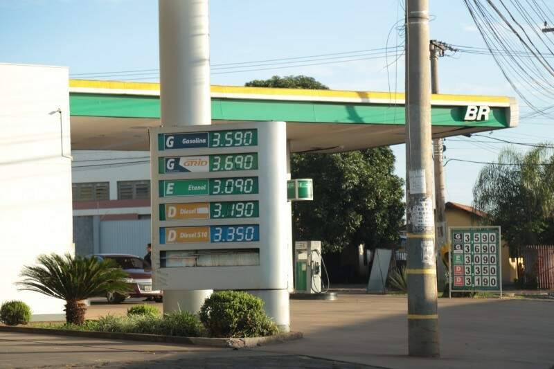 Preço registrou queda na maioria das cidades verificadas, mas houve alta em Ponta Porã e Três Lagoas (Foto: Arquivo)