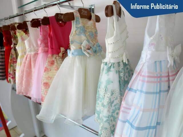 Coleção de vestido de festa é encantadora. (Foto: Fernando Antunes)