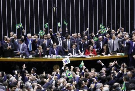 Com 6 votos de MS, reforma da Previdência é aprovada na Câmara