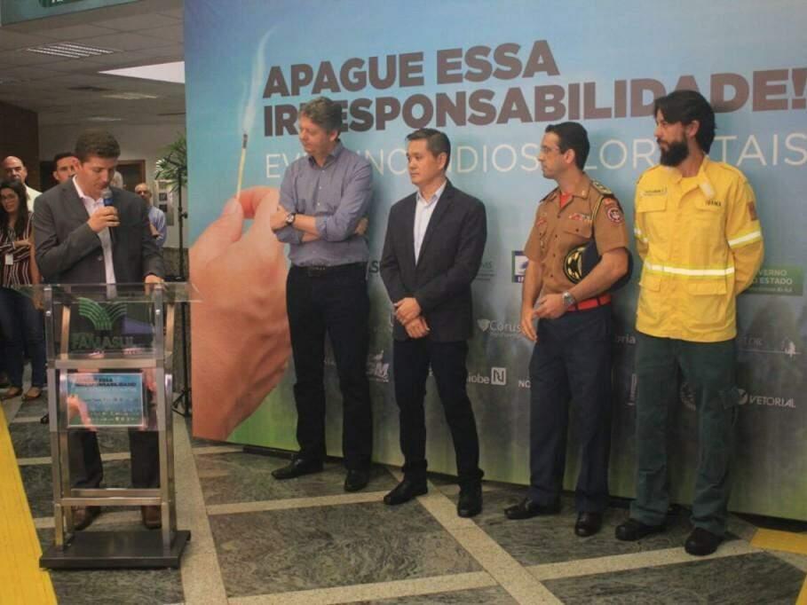Campanha alerta para risco das queimadas no período de estiagem