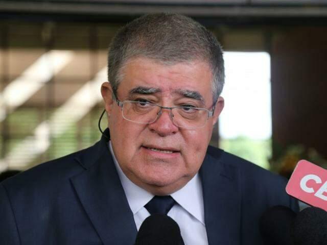 Ministro Carlos Marun diz que região de fronteira está na pauta de nova pasta (Foto: Marcos Ermínio)