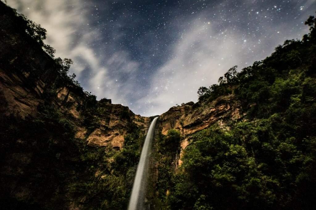 Cachoeira do Rio do Peixe em Rio Negro (Foto: Henrique Arakaki)
