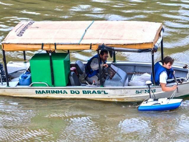 Estudos foram feitos ao longo de dois anos em parceria entre a Marinha de Ladário e Universidade do Paraná. (Foto: Divulgação)