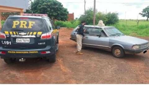 Traficante é preso transportando 21 tabletes de cocaína em Belina
