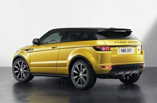 Chega ao Brasil o Range Rover Evoque versão Sicilian Yellow
