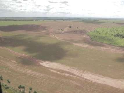 Imasul notifica 2 proprietários rurais após lama invadir o rio da Prata