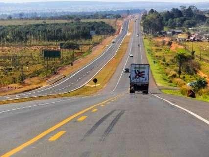 Concessionária chama atenção sobre locais de obras na rodovia BR-163