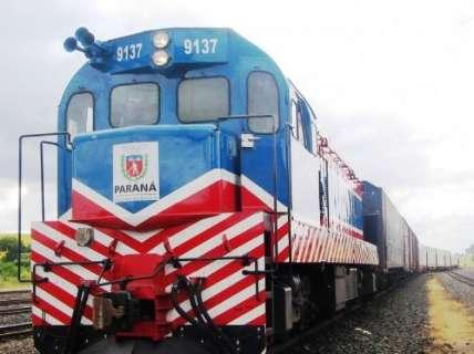 Projeto para ferrovia de R$ 10 bilhões entre MS e PR será lançado em SP