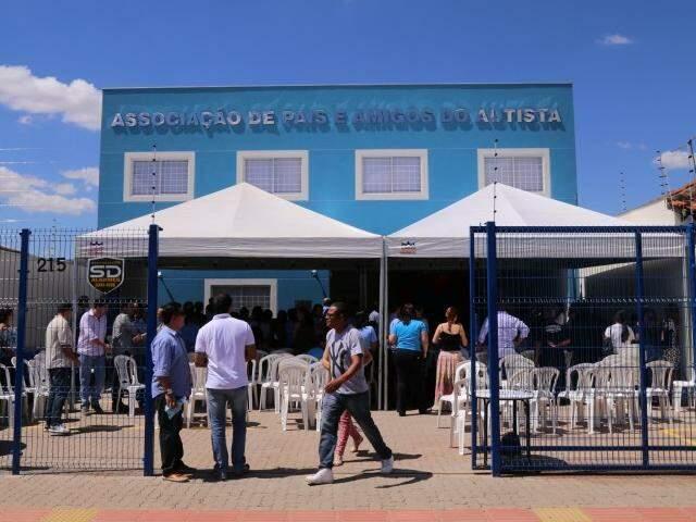 Prédio onde a AMA realiza suas atividades. (Foto: Marcos Ermínio)