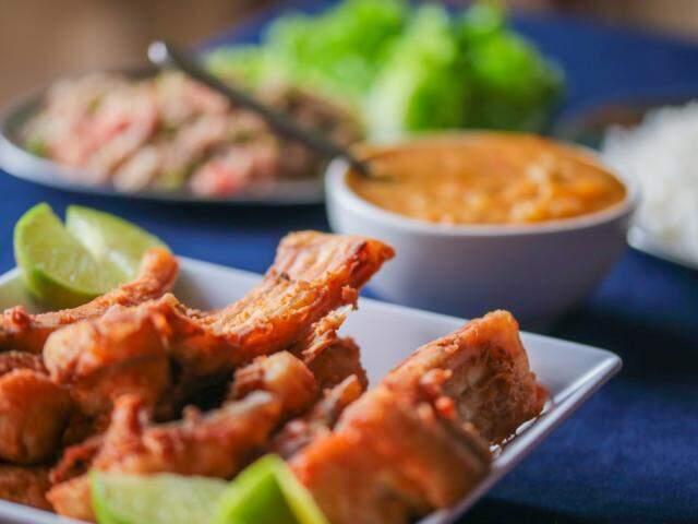 Costelinha de pacu sem espinho é um dos pratos queridinhos no Cantinho do Marcão. A porção sai a R$ 25.00. (foto: Fernando Antunes)