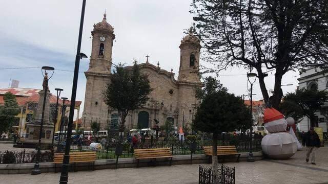 Catedral de la Villa Real de Potosí. (Foto: acervo pessoal)