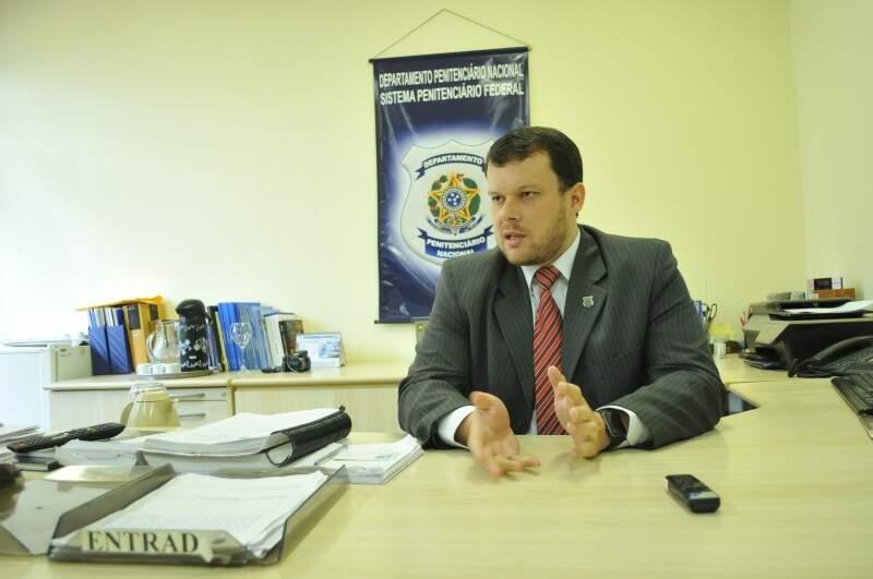 """""""É um regime de segurança máxima especial"""", afirma diretor da unidade. (Foto: Alcides Neto)"""