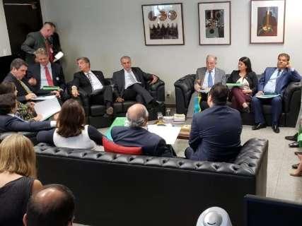 Reinaldo cita BR-163 e Lei Kandir como prioridades para bancada federal
