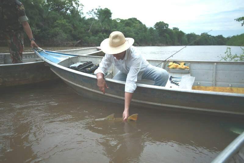 Piracema é  período em que a pesca é proibida nos rios de Mato Grosso do Sul. (Foto: Jairton Costa)
