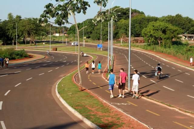 Parque Linear do complexo Buriti-Lagoa