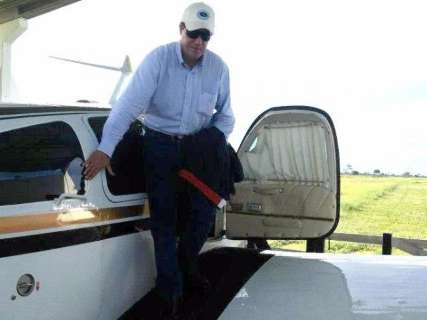 Pecuarista morto em queda de avião saiu de São Paulo e ia para Coxim