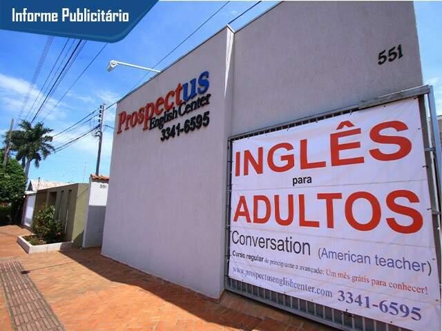 Prospectus English Center fica na Rua do Bolívar, 551 - Vilas Boas - quase esquina com a Avenida Bom Pastor. Foto André Bittar