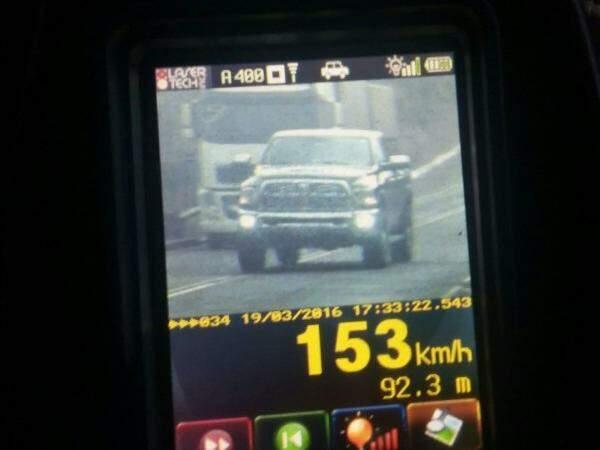 Excesso de velocidade é a causa de 454, das 656 multas aplicadas (Foto: Divulgação/PRF)