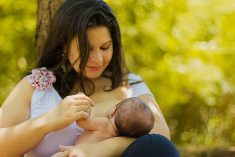Fabiana Felix, mãe de Arthur, de 1 mês. (Foto: Guilherme Calazans)