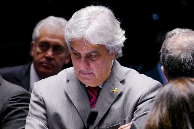 O senador Delcídio do Amaral (sem partido) corre o risco de perder o mandato. (Foto: Agência Senado)