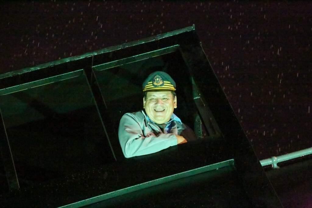 Aposentado há 30 anos, Paulo César foi maquinista ilustre da noite. (Foto: Paulo Francis)
