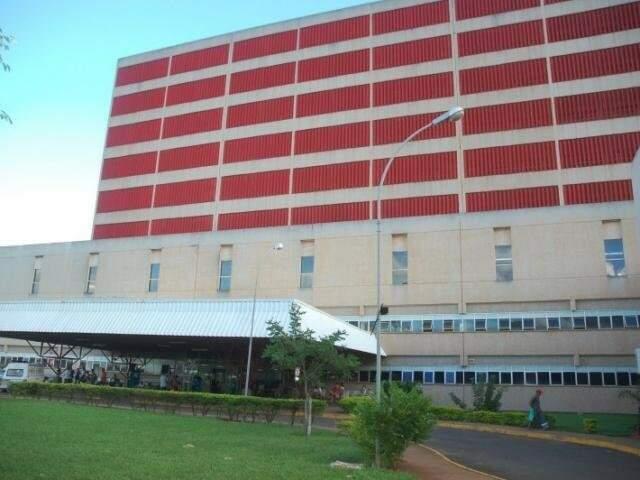 Hospital Regional tem 38 leitos de CTI, dos quais 29 são para adultos e todos também estão ocupados.(Foto: arquivo)