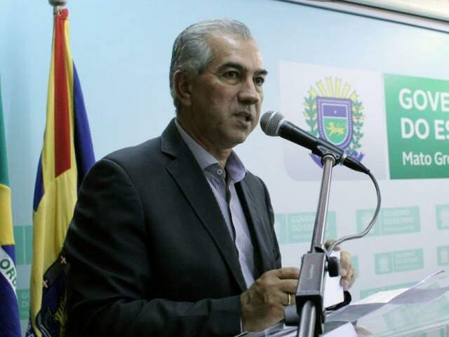 Governador Reinaldo Azambuja (PSDB) continua em Brasília para agenda nos ministérios (Foto: Chico Ribeiro - Assessoria)