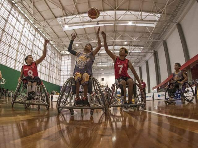 Basquete em cadeira de rodas também terá equipe de Mato Grosso do Sul (Foto: Divulgação)