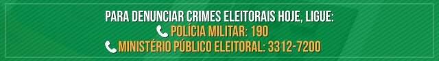 """""""Expectativa é de vitória"""", diz Odilon de Oliveira ao votar com a família"""
