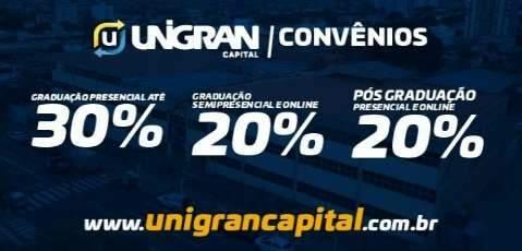 Unigran Capital abre inscrições para vestibular e transferências