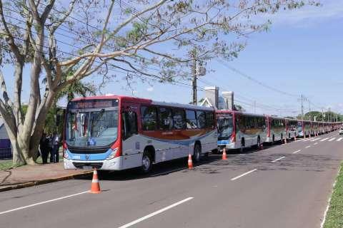 Próxima etapa terá 34 ônibus com ar condicionado, garante Marquinhos