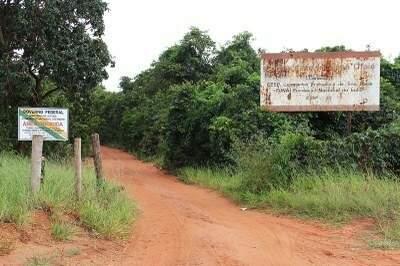 A TI Ofayé-Xavante, localizada no município de Brasilândia (Foto: MPF/MS)