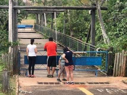 """Por R$ 758 mil reforma no Parque do Sóter vai """"das quadras à passarela"""""""