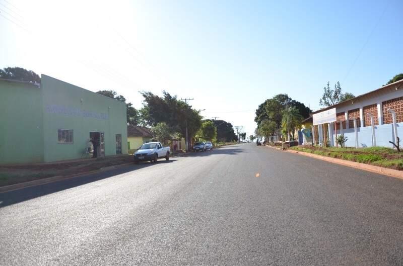 Distrito de Rochedinho  fica a 20 quilômetros da área urbana de Campo Grande. (Foto: Vanessa Tamires/Arquivo)