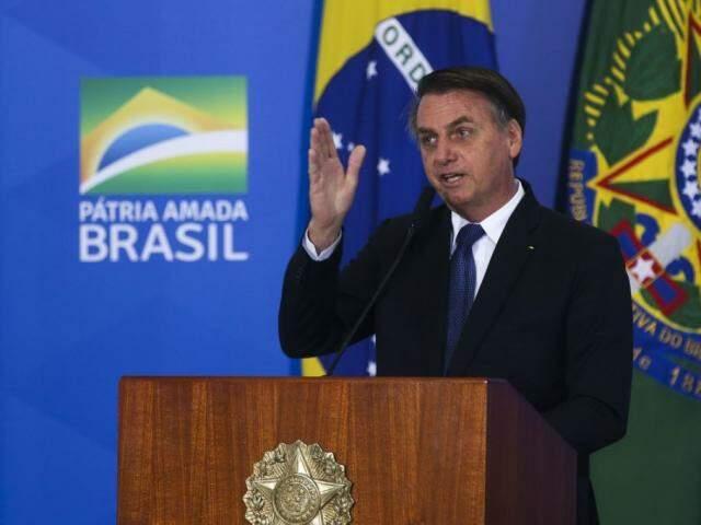 Bolsonaro alegou razões de interesse público e de violação ao processo legislativo ao vetar trecho de MP. (Foto: Antônio Cruz/Agência Brasil)