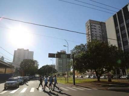 Sábado do aniversário de Campo Grande será quente e seco, alerta Inmet