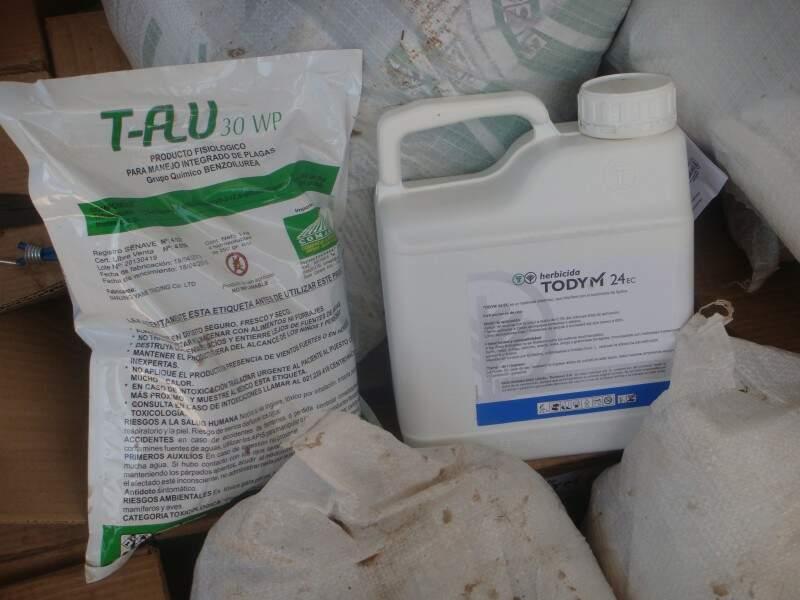 Os produtos foram apreendidos pela PRF. (Foto: divulgação)