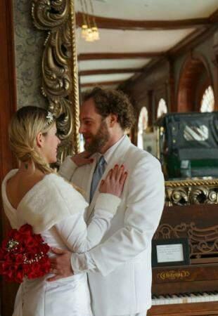 Casal depois do sim. (Foto:E. Sawyer Photography)