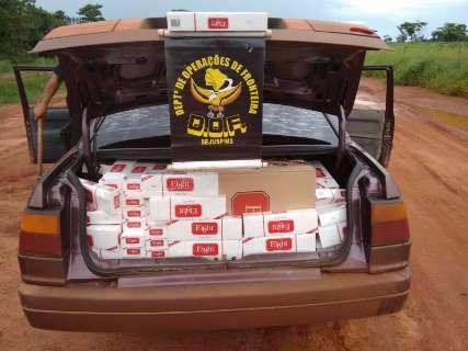 Em dois dias, polícia apreende contrabando de R$ 160 mil na fronteira