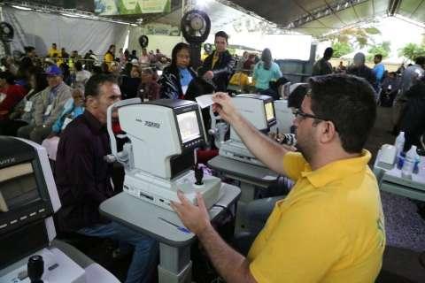 Caravana da Saúde espera realizar 2 mil exames só nesta terça-feira
