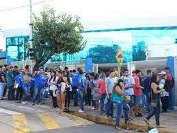 Estudantes durante prova do Enem em Campo Grande. (Foto: Arquivo)
