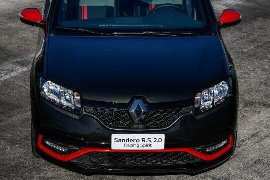 Sandero RS ganha série limitada Racing Spirit