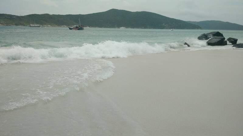 Praia do Forte, em Arraial do Cabo.
