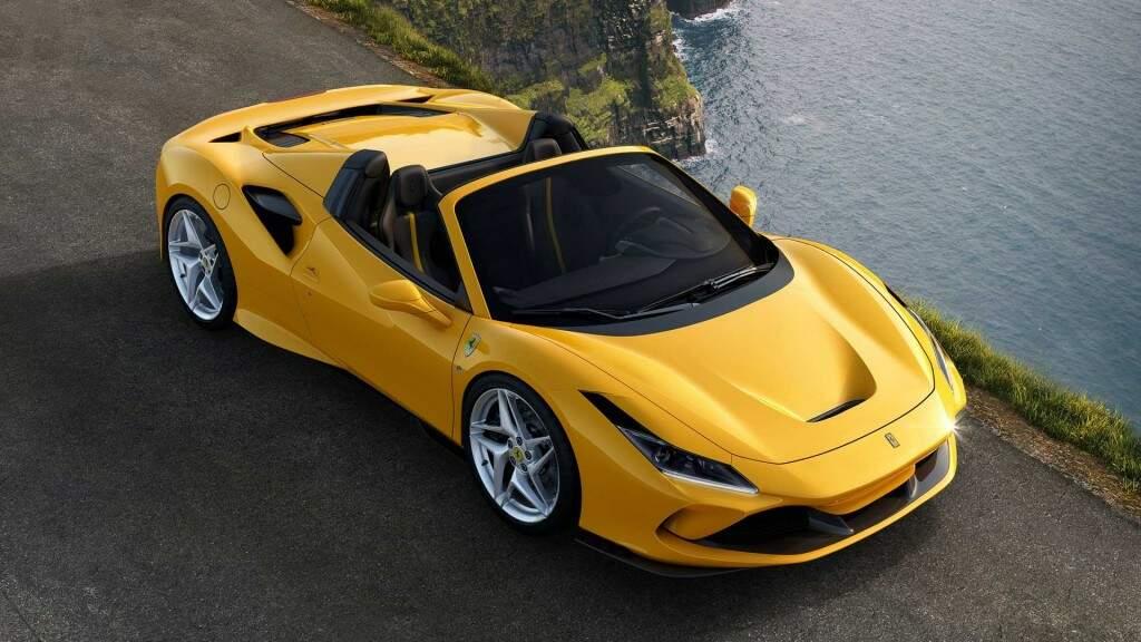 Ferrari F8 Spider - Fotos Divulgação