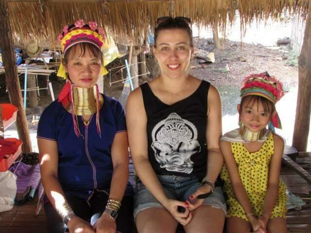 Ilkêmia já conheceu vários países, como a Tailândia, mas sempre sonhou em ir para a África e fazer a diferença. (Foto: Acervo Pessoal)
