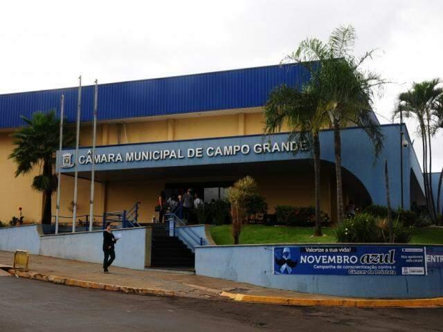 Câmara Municipal de Campo Grande. (Foto: Paulo Fracis).