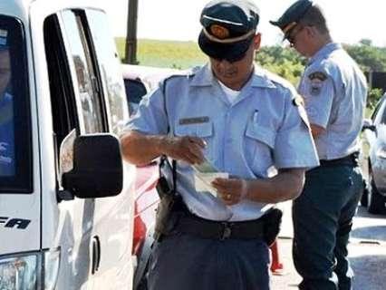 Fiscalização nas rodovias de MS durante Operação Carnaval começa sexta