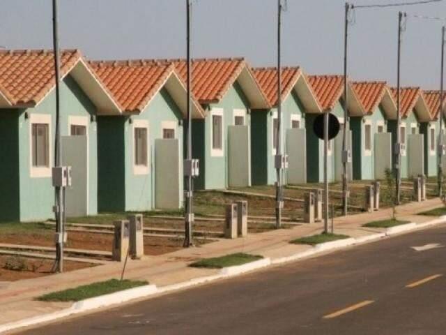 Residencial do Programa Minha Casa, Minha Vida. (Foto: Divulgação/Agehab)