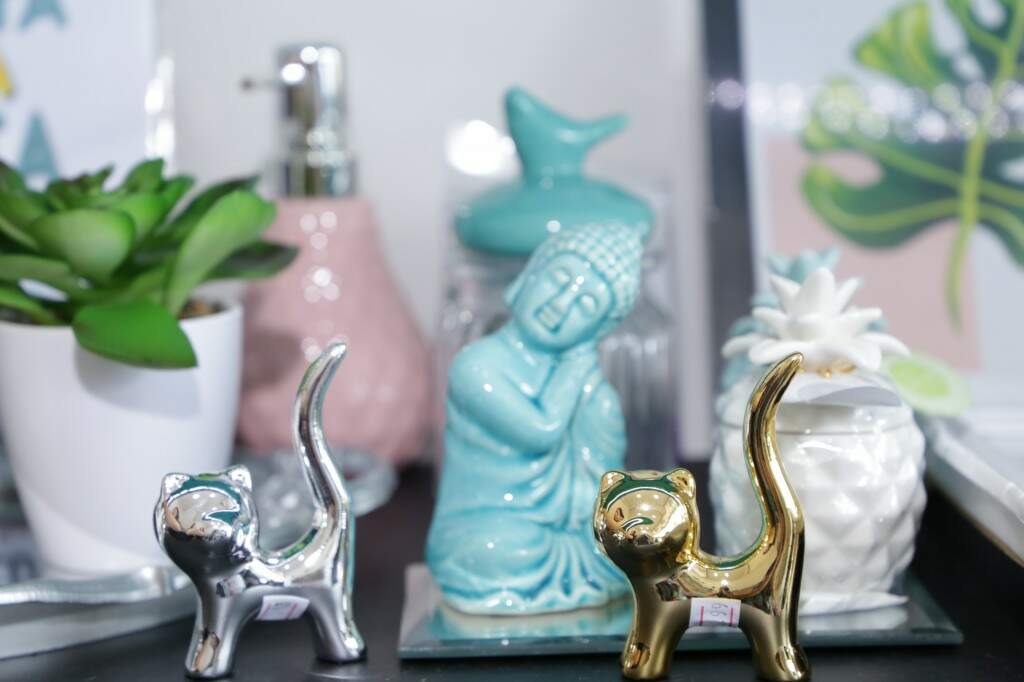 Objetos decorativos. (Foto: Kísie Ainoã)