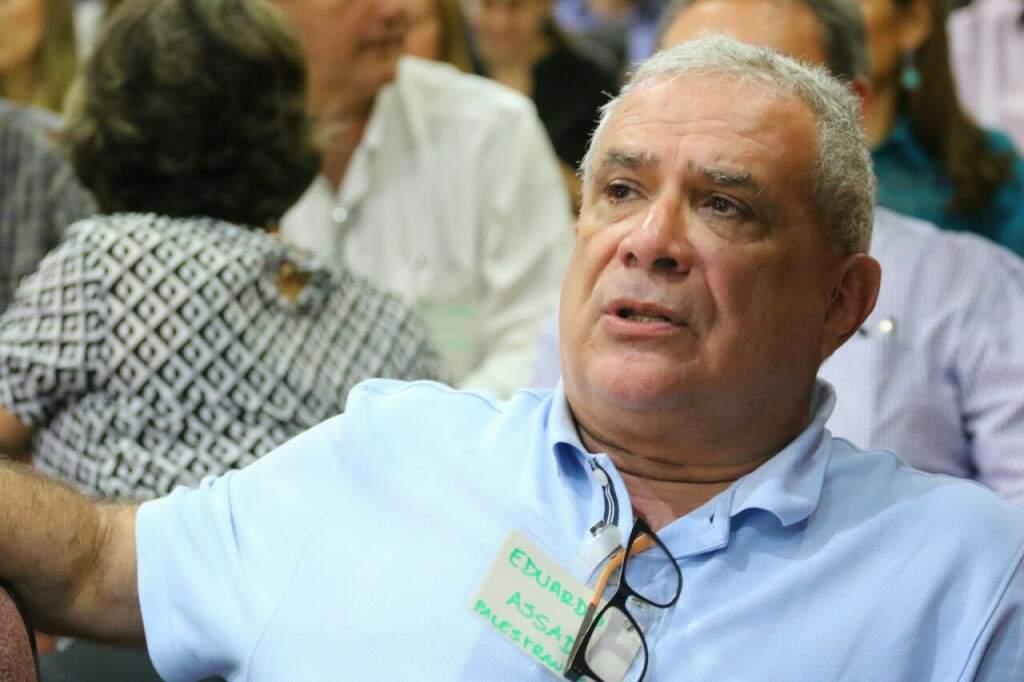 Eduardo Assad, pesquisador da Embrapa Campinas, fala sobre os índices de liberação de carbono no Brasil (Foto: André Bittar)